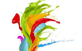 paint splatter exotic flower wallpapers paint splatter exotic