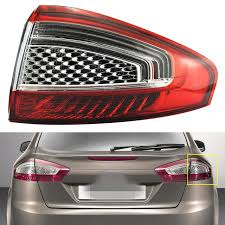 2011 ford fusion tail light 1pcs outer rear light taillight tail l right side for ford mondeo