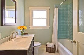 decorations white glass subway tile bathroom superb decorating ideas using silver single hole faucets