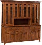 mission style china cabinet mission hutches cabinets countryside amish furniture