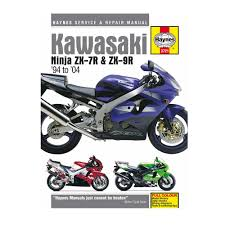 haynes workshop manual guide book for kawasaki zx7r and zx9r ninja
