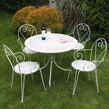 Cream Garden Bench Garden Furniture Steel Interior Design