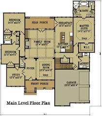 brick home floor plans 2 story 4 bedroom brick house plan by house plans and