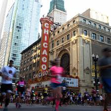 Chicago Marathon Map Chicago Marathon 2016 Route Course Map Times Road Closures