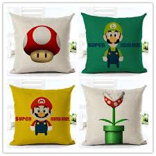 Super Mario Home Decor Online Buy Wholesale Super Mario Pillows From China Super Mario