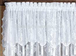 Priscilla Curtains With Attached Valance Curtains With Valance Attached Large Size Of Coffee Swag Shower