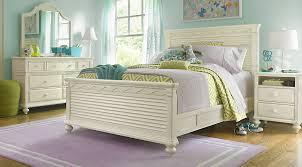 Girls Full Bedroom Sets emma u0027s escape white 4 pc full panel bedroom girls u0027 bedroom sets