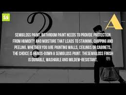 What Kind Of Paint For Bathroom by What Kind Of Paint To Use On A Bathroom Ceiling Youtube