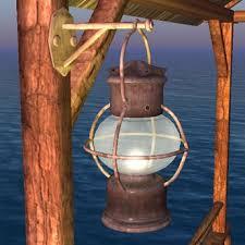 second life marketplace storm lamp oil lamp dock lamp lantern