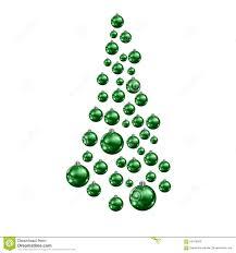 christmas tree made of balls christmas lights decoration