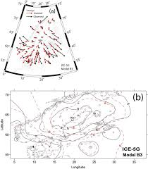 lithosphere thickness and mantle viscosity inverted from gps