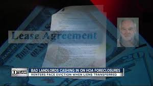 i team dozens of renters of hoa foreclosure properties evicted