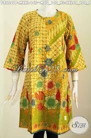 desain baju batik halus batik dress halus nan berkelas baju batik masa kini buatan solo