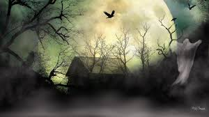 halloween desktop wallpaper widescreen horrifying wallpapers group 40