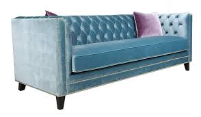 Sofa King Video by Pasargad Victoria Collection Velvet Sofa Blue With 2 Lavender