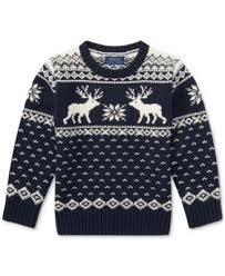 ralph reindeer sweater toddler boys 2t 5t sweaters