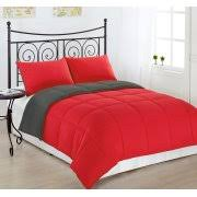 Red And Grey Comforter Grey Comforters
