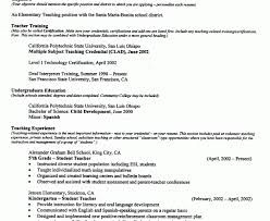 Substitute Teacher Resume Samples by Awesome Design Teacher Resume Example 10 Free Sample Teacher