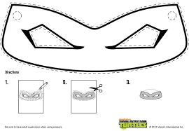 ninja turtle mask coloring page bltidm