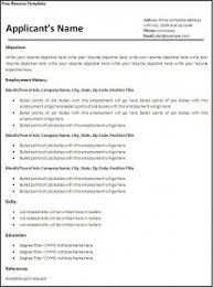 free resume templates for pdf 16 free resume templates excel pdf formats