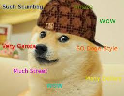 Such Doge Meme - scumbag doge