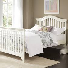 Convertible Sleigh Bed Crib by Creations Mesa Convertible Crib In White