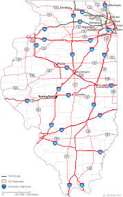 mexico toll road map map of illinois