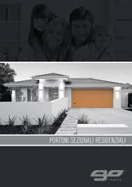 go porte sezionali go catalogo porte sezionali residenziali pdf flipbook
