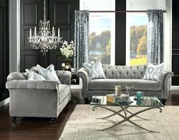 Grey Leather Tufted Sofa Tufted Grey Sofa Sally 102 Tufted Sectional Sofa Reviews Grey