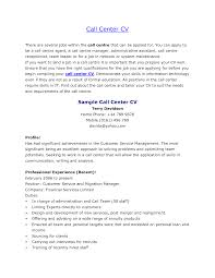 sample resume for call center jobs beautiful resumes for call