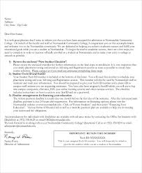 How Does College Acceptance Letter Look Like Sle College Acceptance Letter 7 Documents In Pdf Word