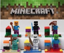 minecraft cake topper pixelated gamer block cake topper 6 figure set assembled