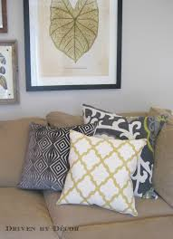 pillow covers from pillow flight driven by decor