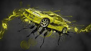 mitsubishi eclipse yellow mitsubishi eclipse jdm tuning fantasy live colors car 2015 el tony