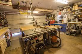 wood shop anthony s garage woodshop the wood whisperer