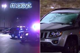 dark purple jeep black friday kicks off with deadly shooting at mall new york post