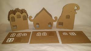 whimsical whoville style houses diy cardboard houses