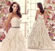 organza wedding dress 2014 fall mikaella taffeta and organza wedding dress strapless