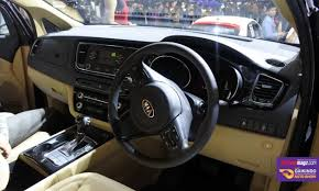 Interior Kia Sedona Kia Grand Sedona And Sportage Launched Here Is The Price