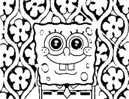 print u0026 download spongebob and patrick coloring pages