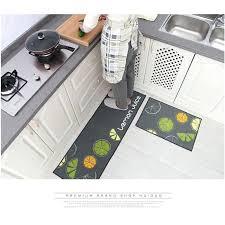 tapis cuisine antiderapant lavable tapis cuisine antiderapant lavable tapis akouarel 100 coton