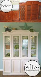 ideas about china cabinet makeovers pinterest hutch friend marie spotted beautiful white hutch filled with greens and aqua blues the pottery barn catalog yeah