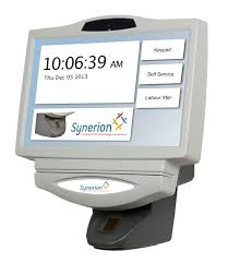 employee time and attendance tracking software synerion