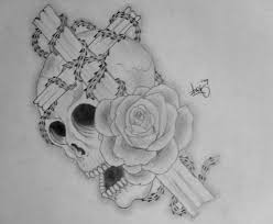 skull and cross by arthurjacobs on deviantart