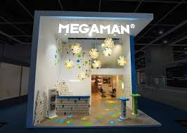 photo booth lighting megaman booth by uniplan hk at hk lighting fair 2014 hong kong