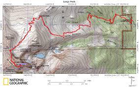 Longs Longs Peak Via The Keyhole Route