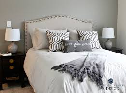 Gray Linen Headboard Ask Kylie How Can I Make Gray Feel Warmer