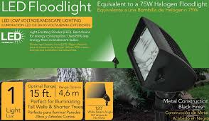 Malibu Flood Light Kit by Amazon Com Malibu 18 Watt Led Low Voltage Landscape Floodlight