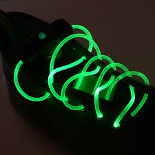 led shoelaces 1 pair string flash led light shoe shoelaces glow stick