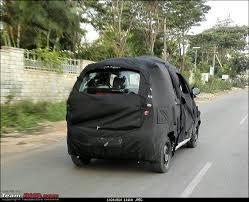 Mahindra Reva E20 Interior Mahindra Reva E2o Four Door Caught Testing For The First Time